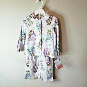 NWT FROZEN II 3T   DISNEY  Girls Pajamas
